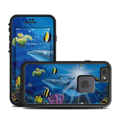 Lifeproof iPhone 6 Fre Case Skin - Ocean Friends