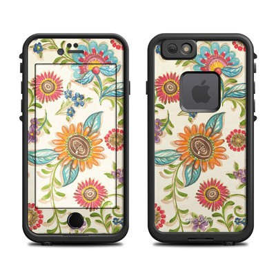 Lifeproof iPhone 6 Fre Case Skin - Olivia's Garden