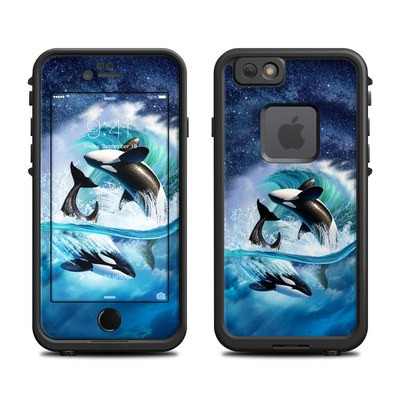 Lifeproof iPhone 6 Fre Case Skin - Orca Wave