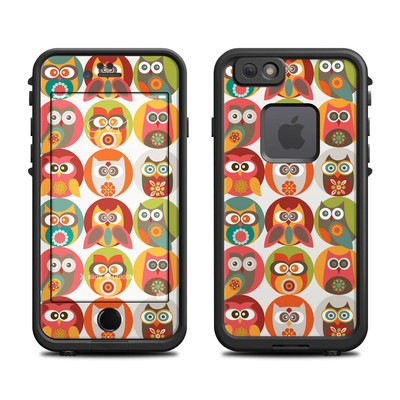 Lifeproof iPhone 6 Fre Case Skin - Owls Family
