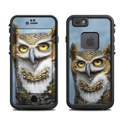 Lifeproof iPhone 6 Fre Case Skin - Owl Totem