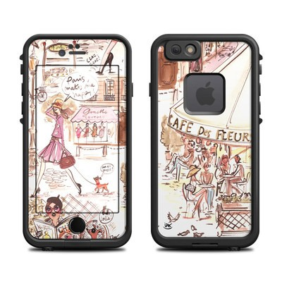 Lifeproof iPhone 6 Fre Case Skin - Paris Makes Me Happy