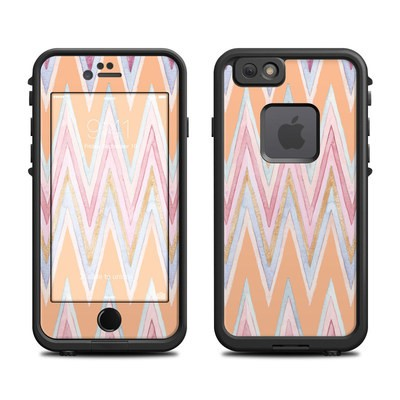 Lifeproof iPhone 6 Fre Case Skin - Pastel Chevron