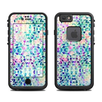 Lifeproof iPhone 6 Fre Case Skin - Pastel Triangle