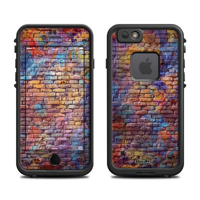 Lifeproof iPhone 6 Fre Case Skin - Painted Brick