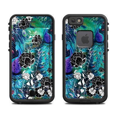 Lifeproof iPhone 6 Fre Case Skin - Peacock Garden