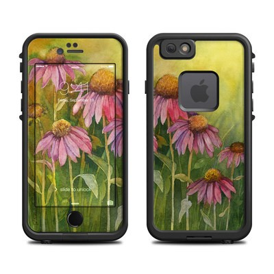 Lifeproof iPhone 6 Fre Case Skin - Prairie Coneflower