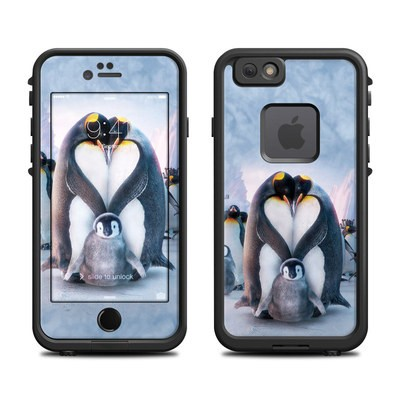 Lifeproof iPhone 6 Fre Case Skin - Penguin Heart