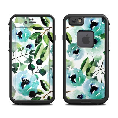 Lifeproof iPhone 6 Fre Case Skin - Peonies