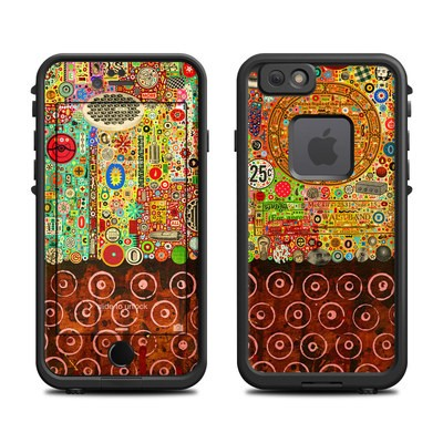 Lifeproof iPhone 6 Fre Case Skin - Percolations