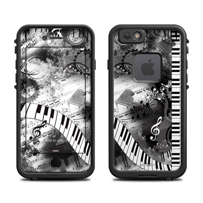 Lifeproof iPhone 6 Fre Case Skin - Piano Pizazz