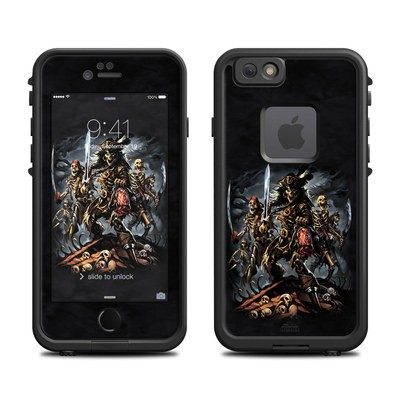Lifeproof iPhone 6 Fre Case Skin - Pirates Curse