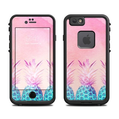 Lifeproof iPhone 6 Fre Case Skin - Pineapple Farm