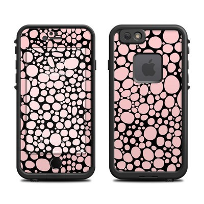 Lifeproof iPhone 6 Fre Case Skin - Pink Bubbles