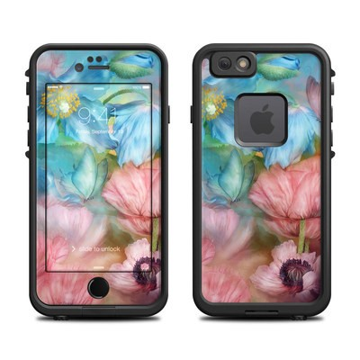 Lifeproof iPhone 6 Fre Case Skin - Poppy Garden