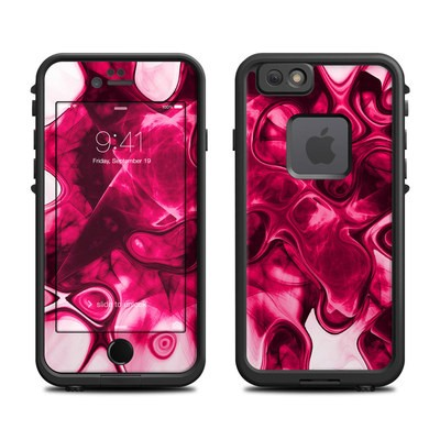 Lifeproof iPhone 6 Fre Case Skin - Pink Splatter