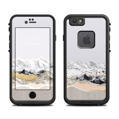 Lifeproof iPhone 6 Fre Case Skin - Pastel Mountains