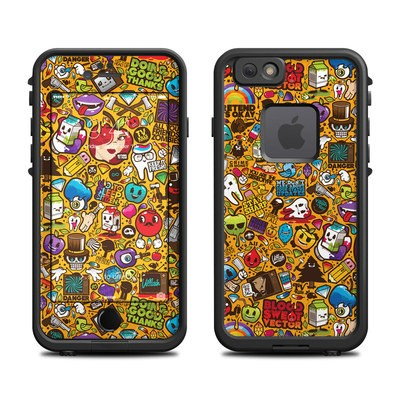 Lifeproof iPhone 6 Fre Case Skin - Psychedelic