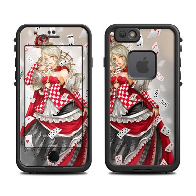 Lifeproof iPhone 6 Fre Case Skin - Queen Of Cards