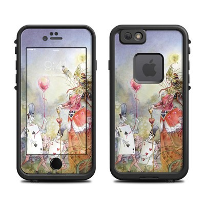 Lifeproof iPhone 6 Fre Case Skin - Queen of Hearts