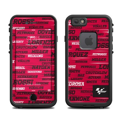 Lifeproof iPhone 6 Fre Case Skin - Racers