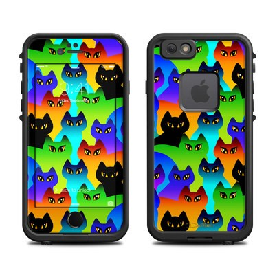 Lifeproof iPhone 6 Fre Case Skin - Rainbow Cats