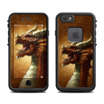 Lifeproof iPhone 6 Fre Case Skin - Red Dragon