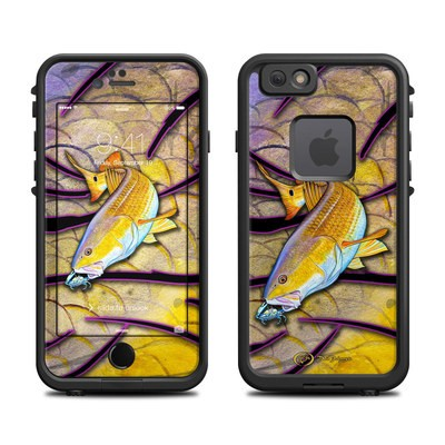 Lifeproof iPhone 6 Fre Case Skin - Red Fish