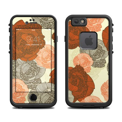 Lifeproof iPhone 6 Fre Case Skin - Roses