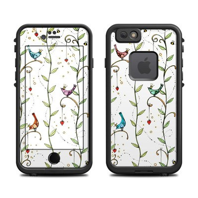 Lifeproof iPhone 6 Fre Case Skin - Royal Birds