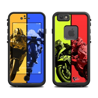 Lifeproof iPhone 6 Fre Case Skin - Race Panels