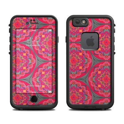 Lifeproof iPhone 6 Fre Case Skin - Ruby Salon