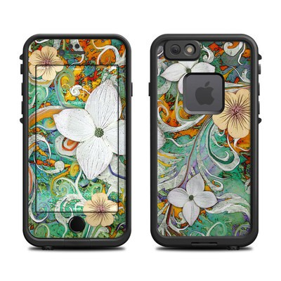 Lifeproof iPhone 6 Fre Case Skin - Sangria Flora