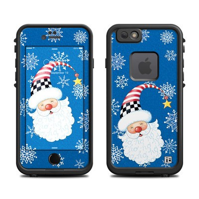 Lifeproof iPhone 6 Fre Case Skin - Santa Snowflake