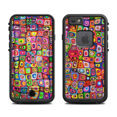 Lifeproof iPhone 6 Fre Case Skin - Square Dancing