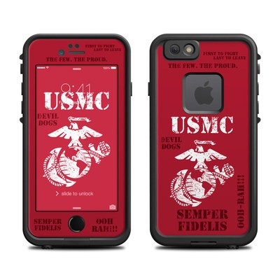 Lifeproof iPhone 6 Fre Case Skin - Semper Fi