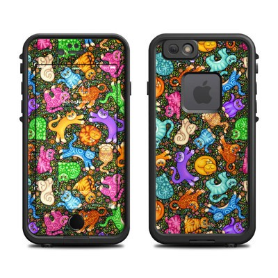 Lifeproof iPhone 6 Fre Case Skin - Sew Catty