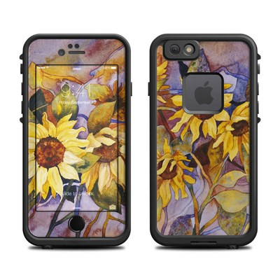 Lifeproof iPhone 6 Fre Case Skin - Sunflower