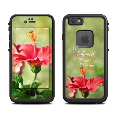 Lifeproof iPhone 6 Fre Case Skin - She Believed