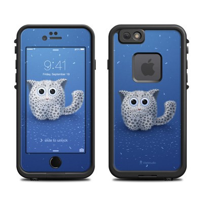 Lifeproof iPhone 6 Fre Case Skin - Snow Leopard