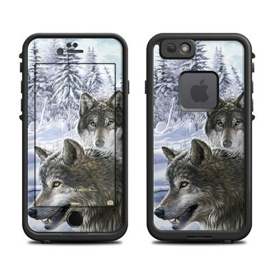 Lifeproof iPhone 6 Fre Case Skin - Snow Wolves