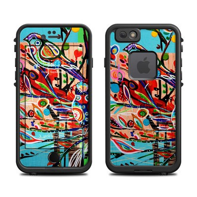 Lifeproof iPhone 6 Fre Case Skin - Spring Birds