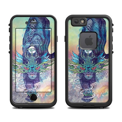 Lifeproof iPhone 6 Fre Case Skin - Spectral Cat