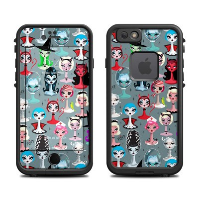 Lifeproof iPhone 6 Fre Case Skin - Spooky Dolls