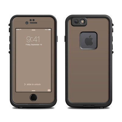 Lifeproof iPhone 6 Fre Case Skin - Solid State Flat Dark Earth