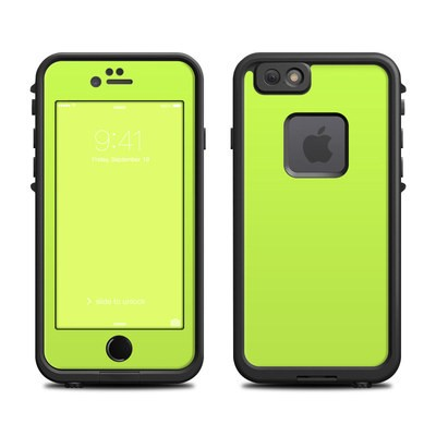 Lifeproof iPhone 6 Fre Case Skin - Solid State Lime