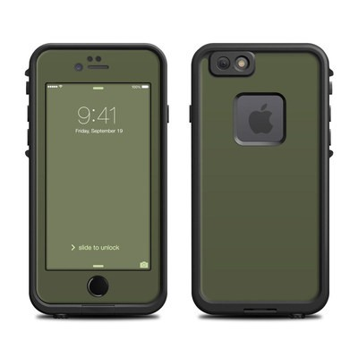 Lifeproof iPhone 6 Fre Case Skin - Solid State Olive Drab