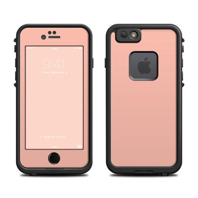 Lifeproof iPhone 6 Fre Case Skin - Solid State Peach