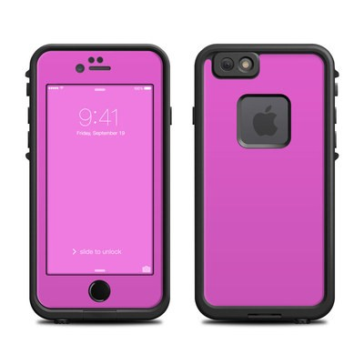 Lifeproof iPhone 6 Fre Case Skin - Solid State Vibrant Pink