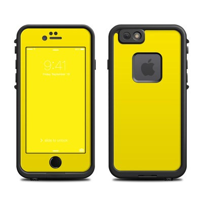 Lifeproof iPhone 6 Fre Case Skin - Solid State Yellow